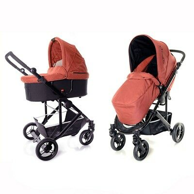 StrollAir Single Stroller CosmoS - Red