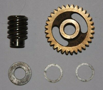 New 16 Pitch 32 to 1 Ratio Worm Gear Set