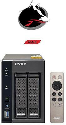 QNAP TS-253A-8G/2TB-IW 2-Bay 2TB(2x1TB Seagate IronWolf) Network Attached