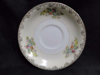 """Meito Burbank, Gold Trim: Saucer Only (s) 6"""""""