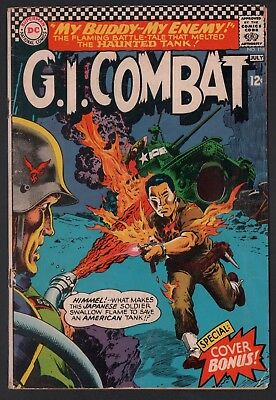 G.I. Combat #118 G/VG 3.0 Cream to Off White Pages