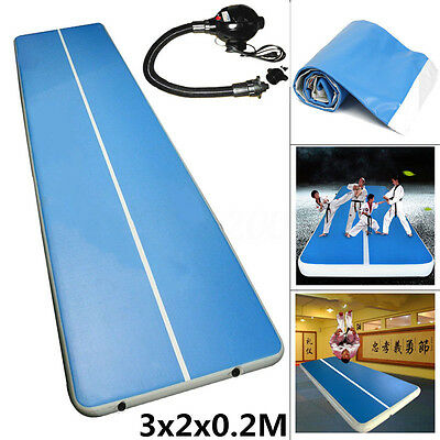 Inflatable Gym Mat Air Tumbling Track Gymnastics Cheerleading Air Floor Big
