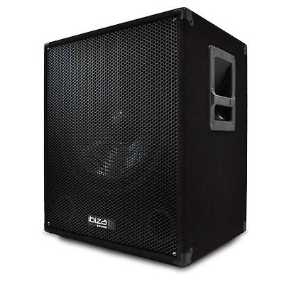Subwoofer Caisson de Basse actif Amplifié Multifonction Speak On Transportable