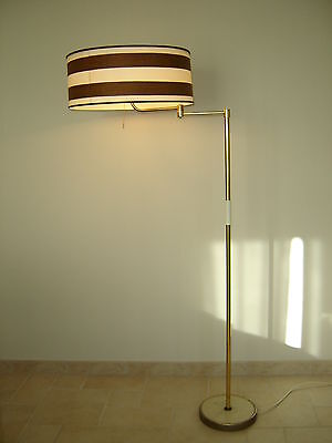 ancienne lampe bras deporte FONTANA ARTE swing arm floor light design modernist