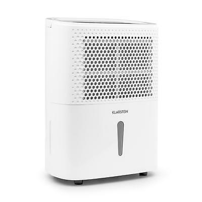 Déshumidificateur d'air Compression 10l/24h 240W Minuterie programmable -blanc