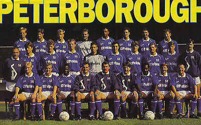 Collection Of #25 Peterborough United Football Team Photos