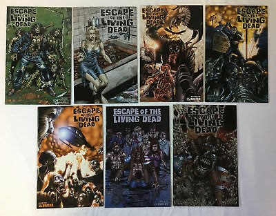 ESCAPE OF THE LIVING DEAD comics #1 2 3 4 5 ~ FULL SET + Annual, Fearbook, NOLD