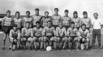 Newport County Football Team Photo>1987-88 Season
