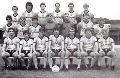 Newport County Football Team Photo>1983-84 Season