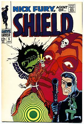 NICK FURY AGENT OF SHIELD #5 F, Jim Steranko c/a S.H.I.E.L.D. Marvel Comics 1968