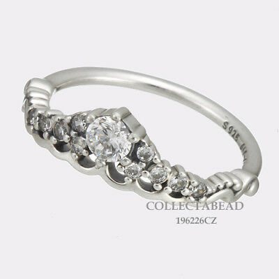 57194b406 Authentic Pandora Silver Fairytale Tiara CZ Ring Size 56 (7.5) 196226CZ  LAST ONE