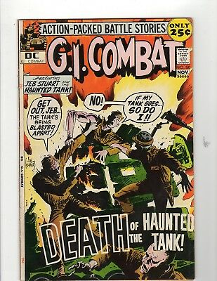 G.I. Combat #150 VG/F 5.0 Off White to White Pages Ice Cream Soldier