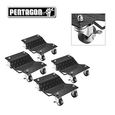 Pentagon Tool | Premium 4-Pack | Car Tire Dolly - Tire Skates