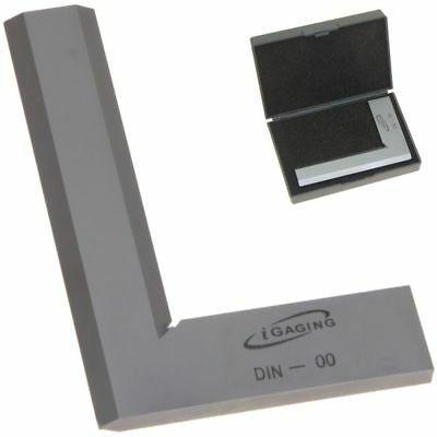 "4"" Bevel Square 90° Right Angle DIN-00 Machinist Precision Design Tool iGaging"