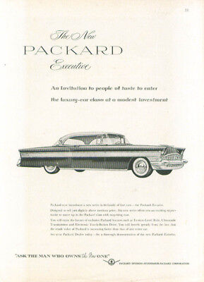 The New Packard Executive - An Invitation ad 1956