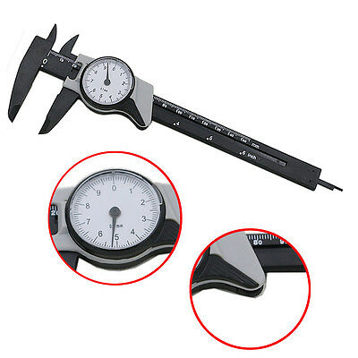 0-150mm Dial Vernier Caliper Measurement Gauge Micrometer Tool 0-6inch & Case US