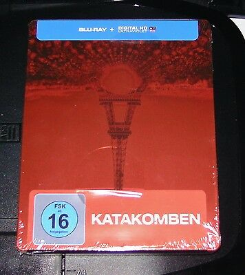 Catacombs Limited Steelbook Edition Blu-Ray Fast Shipping New & Vintage
