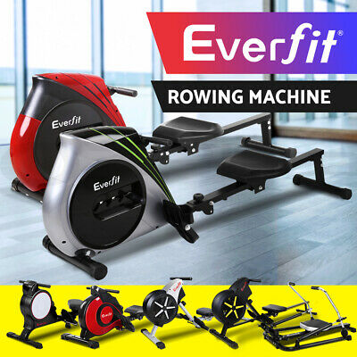 20%OFF Rowing Exercise Machine Rower Resistance Fitness Gym Hydraulic Magnetic