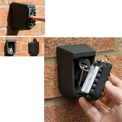 Combination Lock Outdoor Key Storage Safe Box Wall Mount Security Digital Safety
