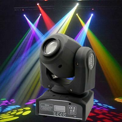 8 Pack 60W RGBW LED Moving Head Stage Lighting DMX-512 DJ Disco XMAS Party Light