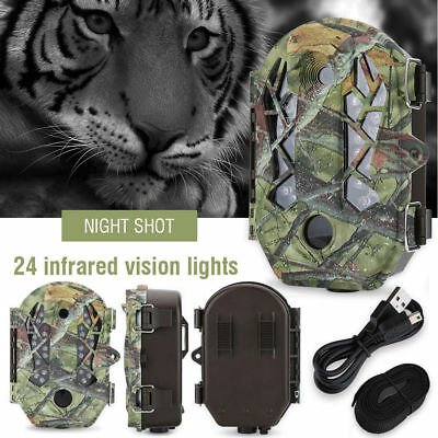 16MP 1080P HD Wildlife Hunting Trail Animal Infrared Vision Night Digital Camera