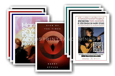 HARRY STYLES - 10 promotional posters  collectable postcard set # 2