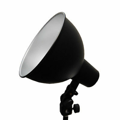 "Lusana Studio Photography 7.5"" Wide Bowl Light Reflector Light Bulb Adapter"
