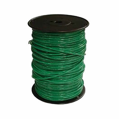 20492512 SOUTHWIRE COMPANY Building Wire,THHN,8 AWG,Green,500ft