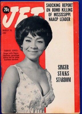 3/16/1967 Jet Magazine TAMIKO JONES STARDOM George Metcalf Wherlest Jackson bomb