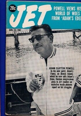 1/12/1967 Jet Magazine Adam Powell loses seat HODDING CARTER REVELS Art Edgerton