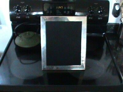 Signed Sterling Silver Picture Frame Tiffany & Co HUGE 12 x 10 Inches No Dents