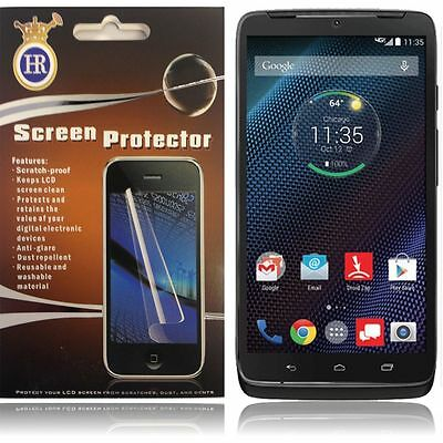Clear Screen Protector for Motorola Droid Turbo 2 Moto X Force 2 XT1585