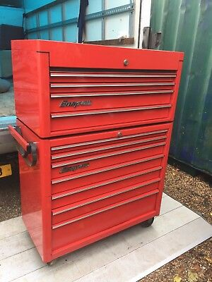 toolbox with hutch snap on tool box riser hutch top box 64000 picclick uk