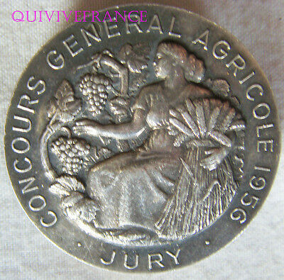 Bg6251 - Insigne Badge Jury Concours General Agricole 1956