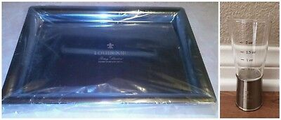 Remy Martin Louis XIII Christophe Pillet Tableware Silver Serving Tray & 2oz Jig