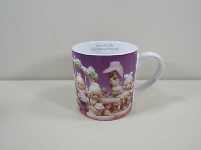 """Large Precious Moments """"Fill your life with precious moments"""" Mug"""