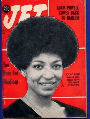 4/11/1968 Jet Magazine ADAM POWELL BACK TO HARLEM Bonnie Allen fights handicap