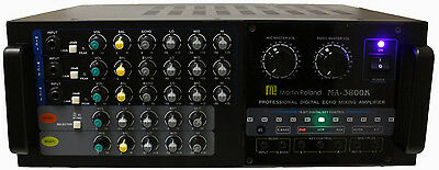 Hisonic Dual Channel MA-3800K Karaoke Mixing Amplifier 760 Watts