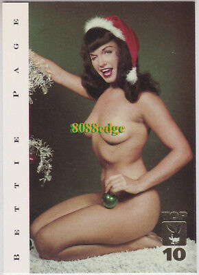 "2000 Playboy Centerfolds Of Century Top 10: Bettie Page #5 ""queen Of Pinups"