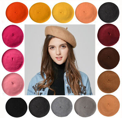 Fashion womam  Wool Beret cap Painter hat Autumn and winter Ladies warm Hat new