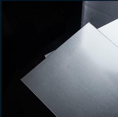US Stock 4pcs 0.6mm x 200mm x 200mm 6061 Aluminum Plate Sheet