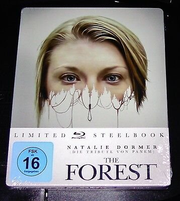 The Forest Verlass Away Limited Steelbook Blu-Ray Edition New & Original Package