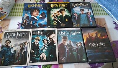 lotto dvd Harry Potter saga completa