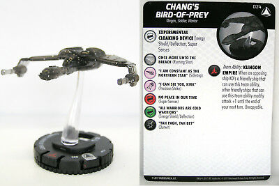 Heroclix - #024 Chang's Bird-of-Prey - Star Trek Tactics IV