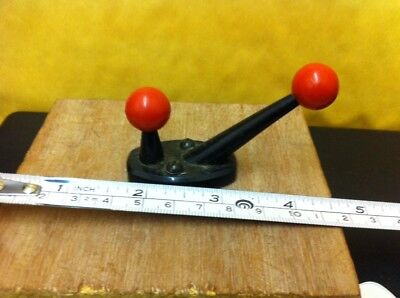 Retro Coat Hook Red And Black Free Uk Postage