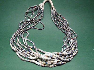 Ancient Bead Necklaces Wholesale Lot Of 10 Roman 100-300 Ad