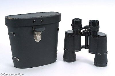 Vintage Bushnell Ensign 7x35 Binoculars 394' @ 1000 yds with Case 6095