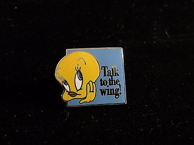 Tweety Bird Talk to the Wing Pin Looney Tunes Warner Brothers