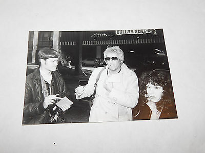 Vintage Original 1970S Roger Daltry The Who Black And White Photo Chicago Hotel