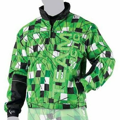 Arctic Cat Men's Freezone Snowmobile Shell Jacket - Lime Green - 5250-17_